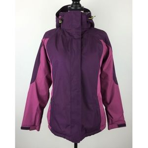 Lands' End Womens Jacket Small Insulated B38-06Z